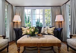 StupendousOversizedOttomandecoratingideasforLivingRoom - Family room curtains ideas