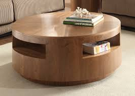 Wooden Coffee Table With Drawers The Round Coffee Tables With Storage U2013 The Simple And Compact