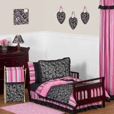 Pink Toddler Bedding Pink And Black Toddler Bedding Sets