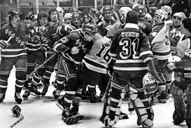 rangers kings bench clearing playoff brawl from 1981