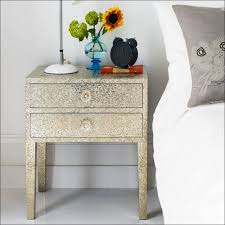 bedroom magnificent high night tables trunk nightstand wrought