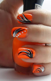 top 25 best orange nail art ideas on pinterest toenails
