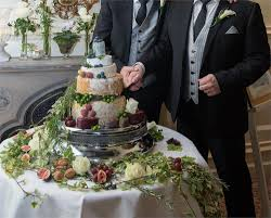 wedding cake of cheese three wedding cakes inspired by nature whispering waters