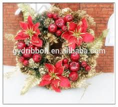 artificial christmas wreaths silver pinecone wreath new design hot selling artificial christmas