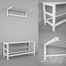 Tjusig Bench With Shoe Storage Ikea Chusig Tjusig Bench And Shelf 3dsky Pinterest Bench