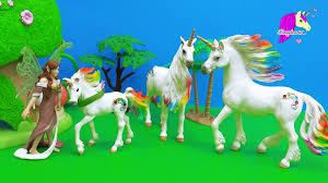 schleich fairy finds baby rainbow unicorn honeyheartsc fantasy