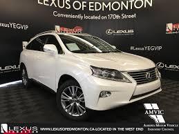 lexus hybrid edmonton pre owned 2013 lexus rx 350 touring package 4 door sport utility