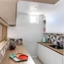cuisine bois et blanc laqué cuisine bois et blanc laque 1 cuisine blanche 30 photos pour