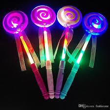 led light sticks light up lollipop wand sticks