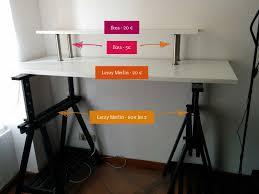 pour mon bureau bureau debout standing desk mon hack ikea samuel bourdon avec desk 1