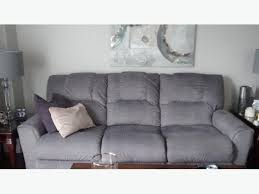 lazy boy easton sofa lazyboy easton reclining sofa grey gloucester ottawa