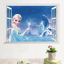 14126 new frozen essar 3d stereo false windows tv background wall 14126 new frozen essar 3d stereo false windows tv background wall stickers stickers kindergarten artistic wall decals baby nursery wall decals from