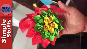 Make Flower With Paper - how to make flower from paper how to make flower with paper