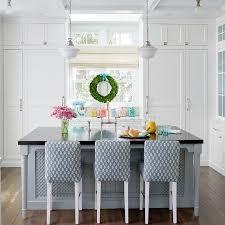 blue kitchen island dark wood kitchen countertop design ideas
