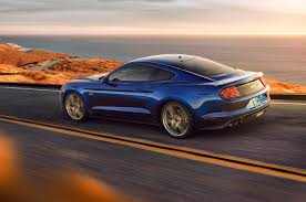 blue mustang 11 significant changes to the refreshed 2018 ford mustang motor