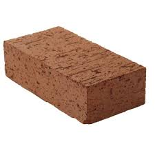 8 in x 2 1 4 in x 4 in clay brick red0126mco the home depot