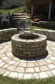 Outdoor Stone Firepits by Miller U0027s Landscaping Materials And Feed Outdoor Fire Pits And