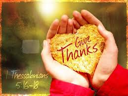 a month of giving thanks day 1 for god s alone ministries