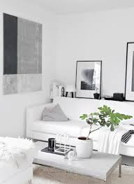 beautiful white window curtain with simply shelving design along