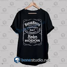 game of thrones hodor jack daniels t shirt bonestudio