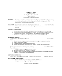 Sample Resume Objectives General by General Resume Objective 7 Resume Objective Examples For Any Job