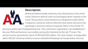 american airlines corporate office contact information youtube