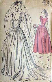vintage wedding dress patterns gorgeous high neckline wedding gown bridal