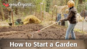 how to start a garden youtube