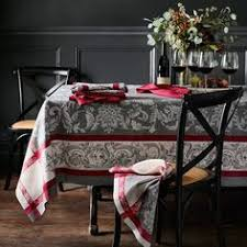 Williams Sonoma Table Linens - hand of miriam jacquard tablecloth contemporary table linens