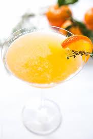 martini orange tangerine and thyme martini u2014 tastes lovely