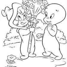 casper friendly ghost court coloring pages batch coloring
