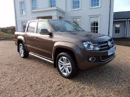 vw amarok highline 180 hp auto in toffee brown full vw service