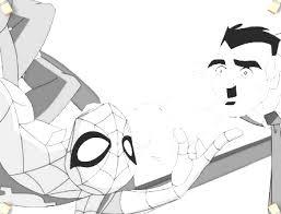 ultimate spiderman coloring 2 ultimate spiderman games