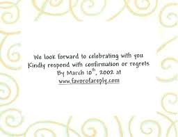 wedding response card wording rsvp online wedding invitation wording the your online wedding