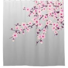 breathtaking pink grey shower curtain contemporary best image