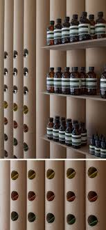 Cardboard Tubes Have Been Used Throughout This Aesop Store In - Retail store interior design ideas