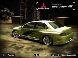 mitsubishi evo 7 2 fast 2 furious nfsunlimited net need for speed rivals most wanted world and