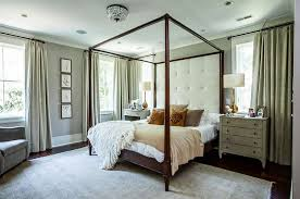 Rustic Contemporary Bedroom Furniture Bedrooms Bright Bedrom With Red Floral Bed And Wood Mismatched
