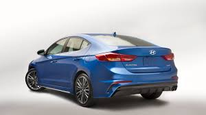 fourtitude com 2017 hyundai elantra sport revealed comes with