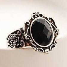 black stone rings images Best vintage black stone rings products on wanelo jpg