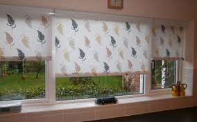 pleasurable ideas kitchen roller blinds patterned cassette surrey