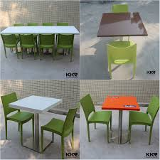 solid surface stone japanese dining table chinese restaurant