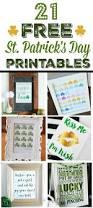 21 st patrick u0027s day printables my mommy style