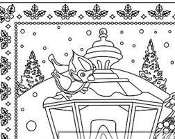 christmas coloring christmas treats holiday coloring
