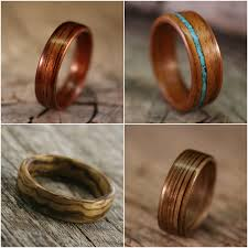 mens wooden wedding bands mens wooden wedding bands as alternative rings