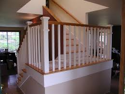 dress up your home with stylish stair railings rose construction inc