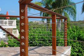 metal deck railing panels deck railing photo gallery stainless