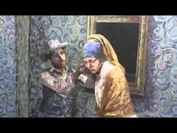vermeer pearl earrings gogh meets johannes vermeer s girl with a pearl earring