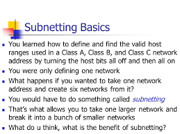 subnetting tutorial for beginners ip addressing ppt video online download