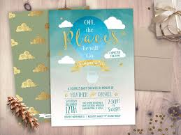 oh the places you ll go baby shower oh the places you will go baby shower invitation baby shower